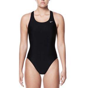 Nike One Piece Swim Suit - Black